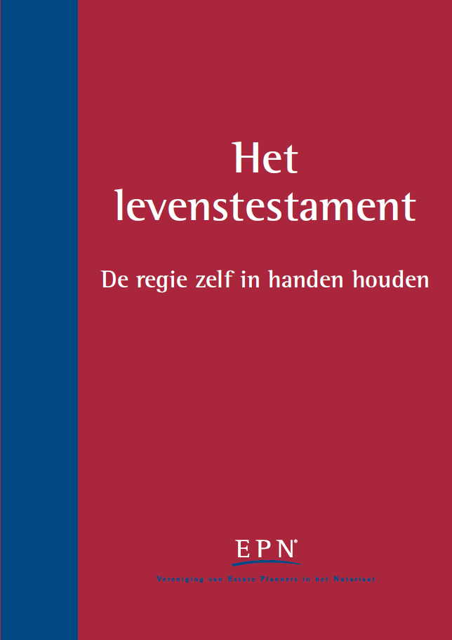 Het levenstestament. Informatie over het Levenstestament